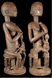 L'art Dogon, Maternité, Kelen, promotion de l'art africain