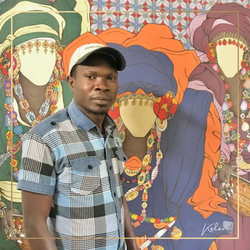 Ibrahima Gningue, women and culture at the heart of his works