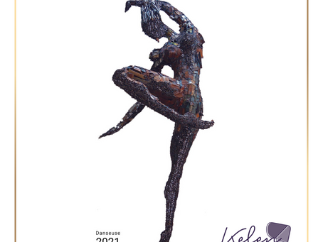 Hamidou Koumaré: sculptor at heart, a heritage from father to son.