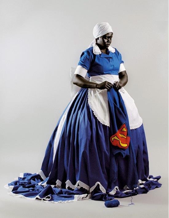 Mary Sibande on Kelen, African art promotion