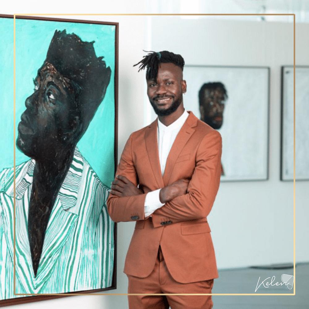 Amoako Boafo sur Kelen, African Art event manager
