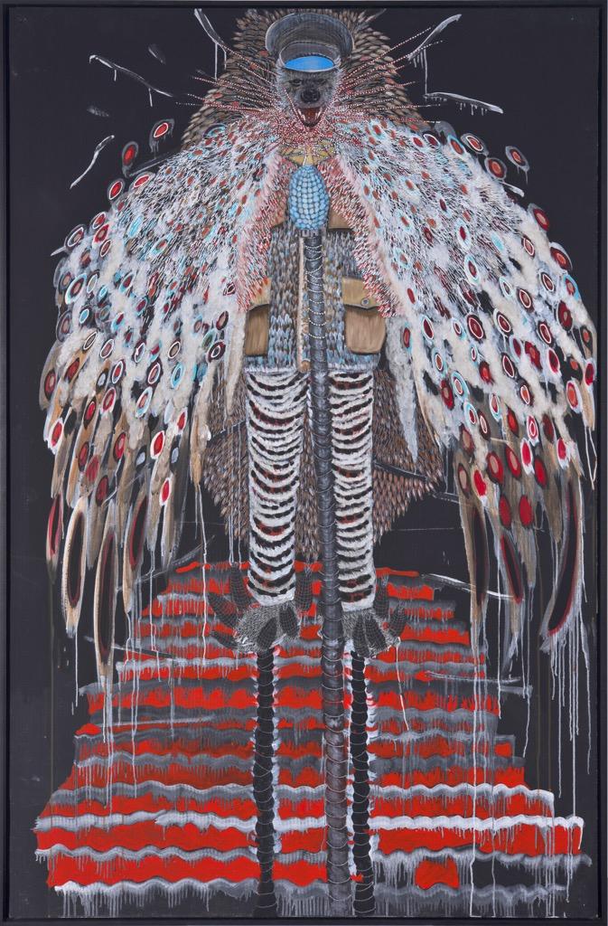 Discover Omar Ba's artworks on Kelen