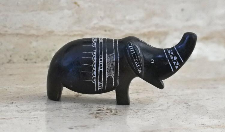 Art touareg Statuette éléphant