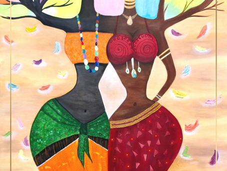 Discover a self-taught, passionate and creative artist: Soraya Gharib.