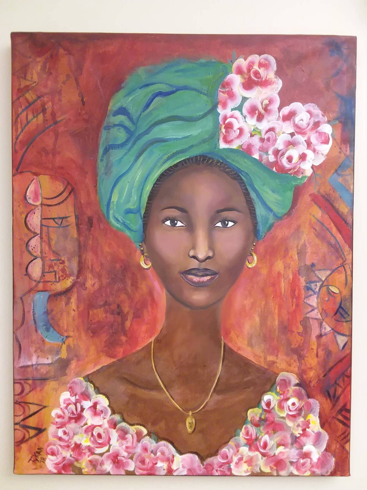 Betty Kandé, Painter