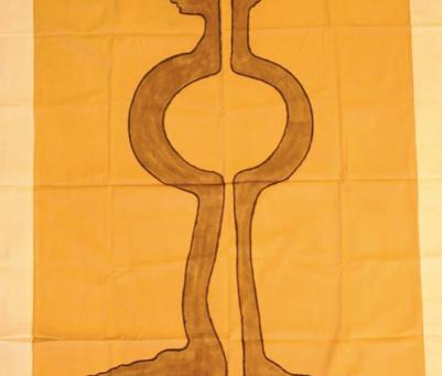 Tidiane Ndongo: a passion for bogolan, ancestral Malian fabric.