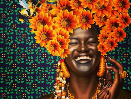 Portrait d'artistes... Zoom sur Caroline Chi Chi Chinakwe