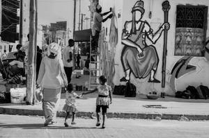 Ina Thiam, Graff, sur Kelen, promotion de l'art africain