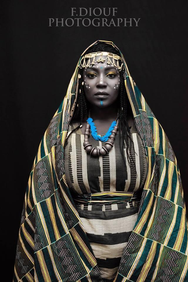 Portrait de la Mona Lisa Africaine