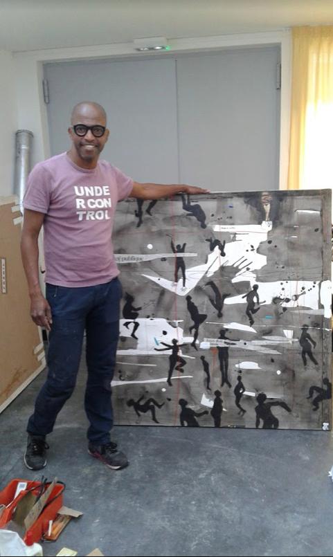 Nu Barreto sur Kelen, promotion de l'art africain