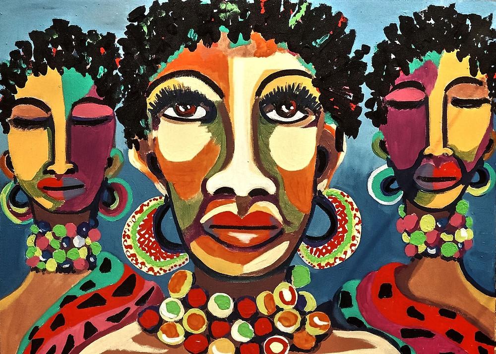 """Article Kelen sur l'installation """"Arts Afrique"""" au Palais des Congrès pour Afrocadre"""