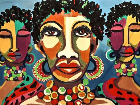 Art africain... Zoom sur l'installation « Arts Afrique » pour Afrocadre