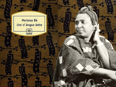 "Zoom on a book: ""So long a letter"" by Mariama Bâ, Senegalese writer"