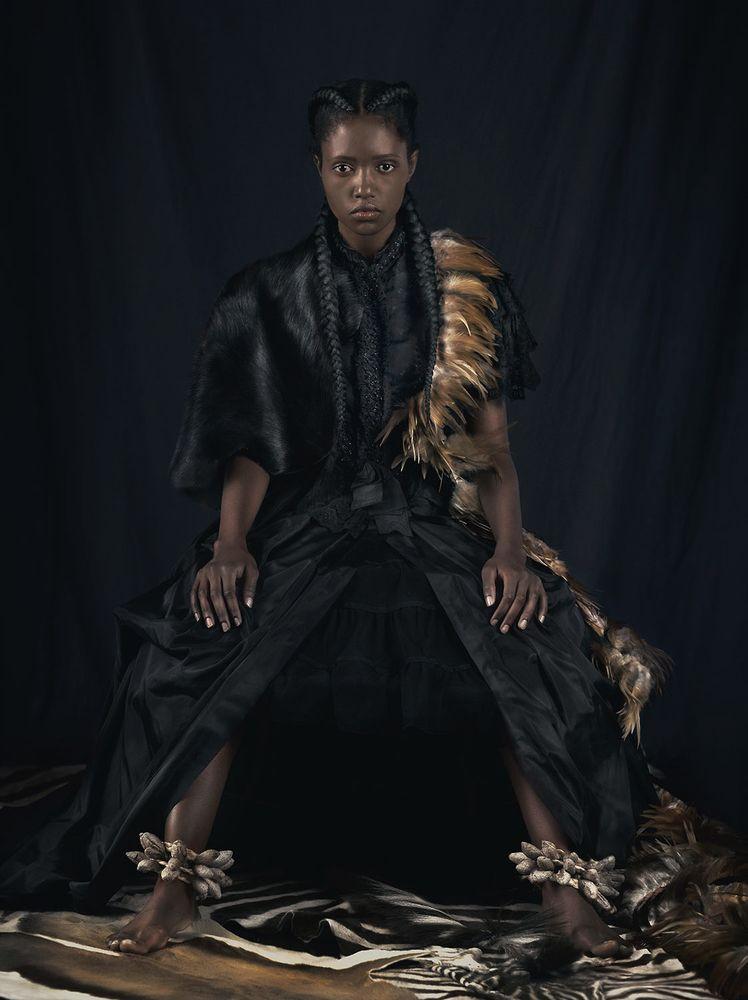 Dagmar Van Dagmar Van Weeghel sur Kelen, promotion de l'art africain