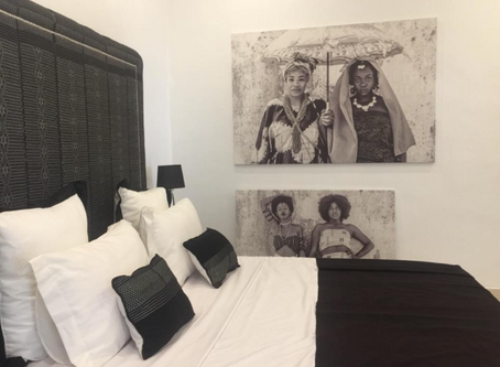 """Art africain... Zoom sur l'exposition """"I am Black and White"""" pour Afrocadre"""
