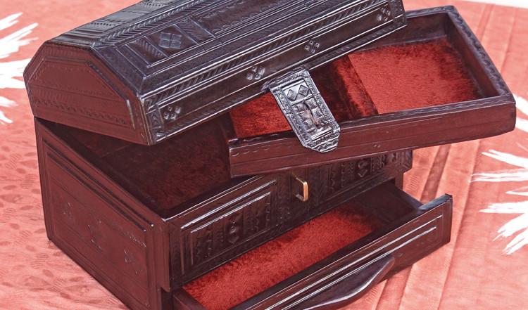 Boîte à bijoux touareg