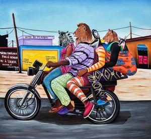 Abdias Ngateu sur Kelen, promotion de l'art africain