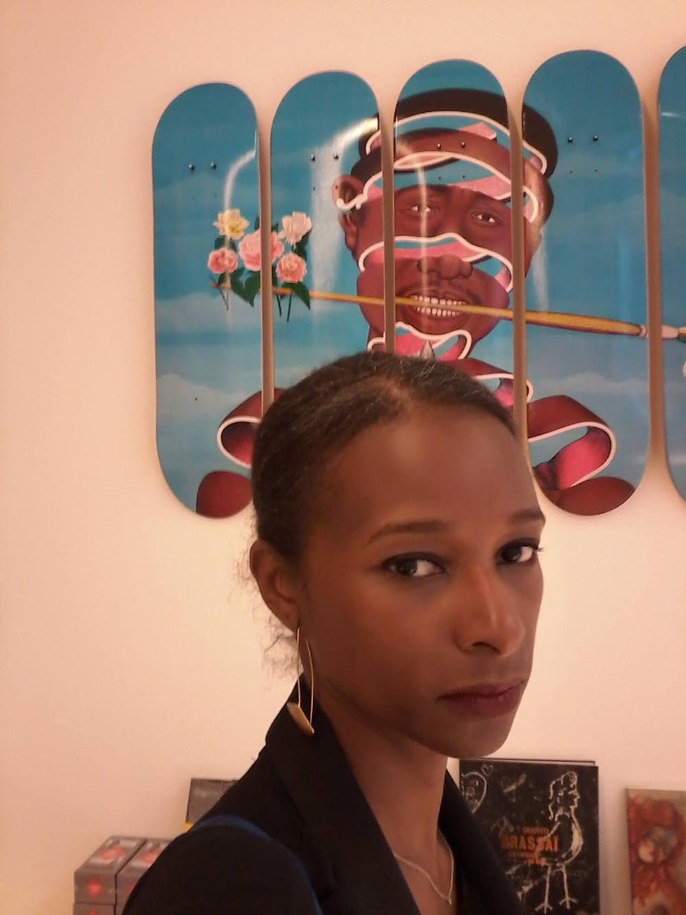 Chéri Samba sur Kelen, promotion de l'art africain