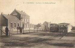 paliseul gare et vicinal