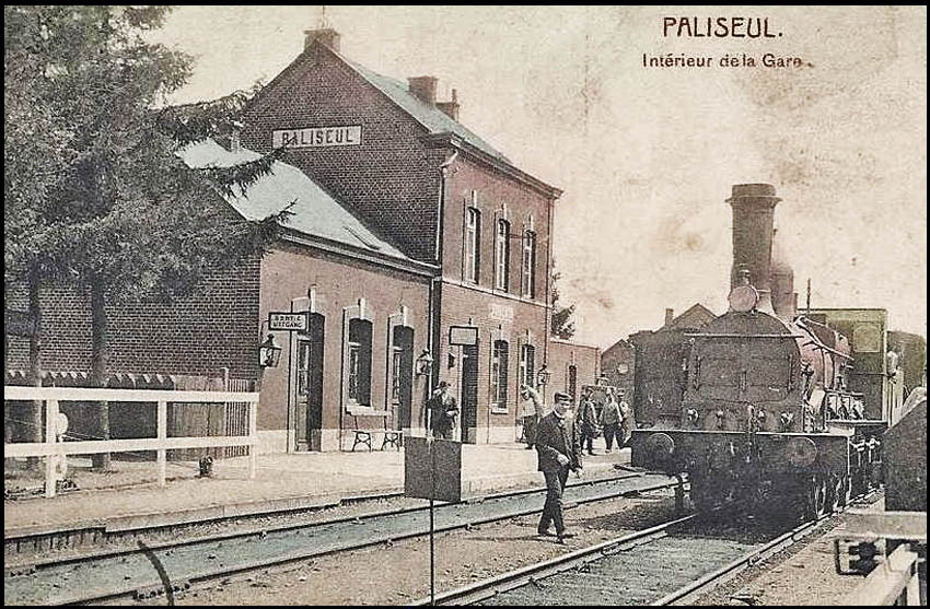 paliseul train vapeur