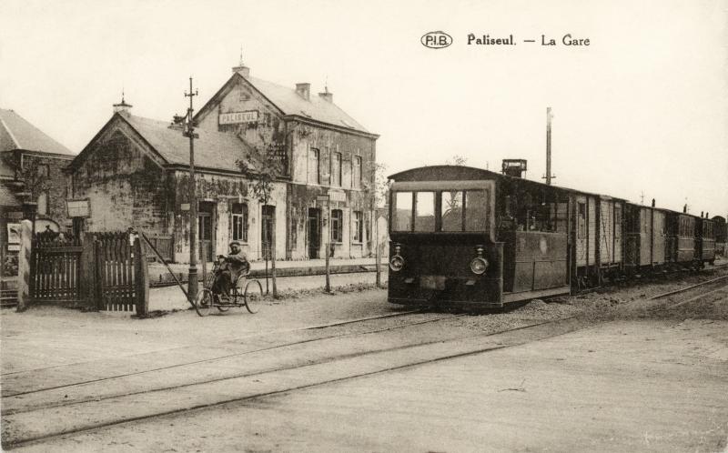 paliseul la gare