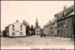 paliseul grand rue et eglise