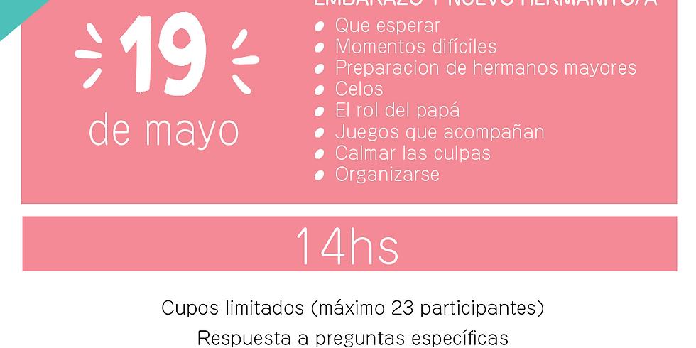 EMBARAZO Y NUEVO HERMANITO/A (nueva fecha)