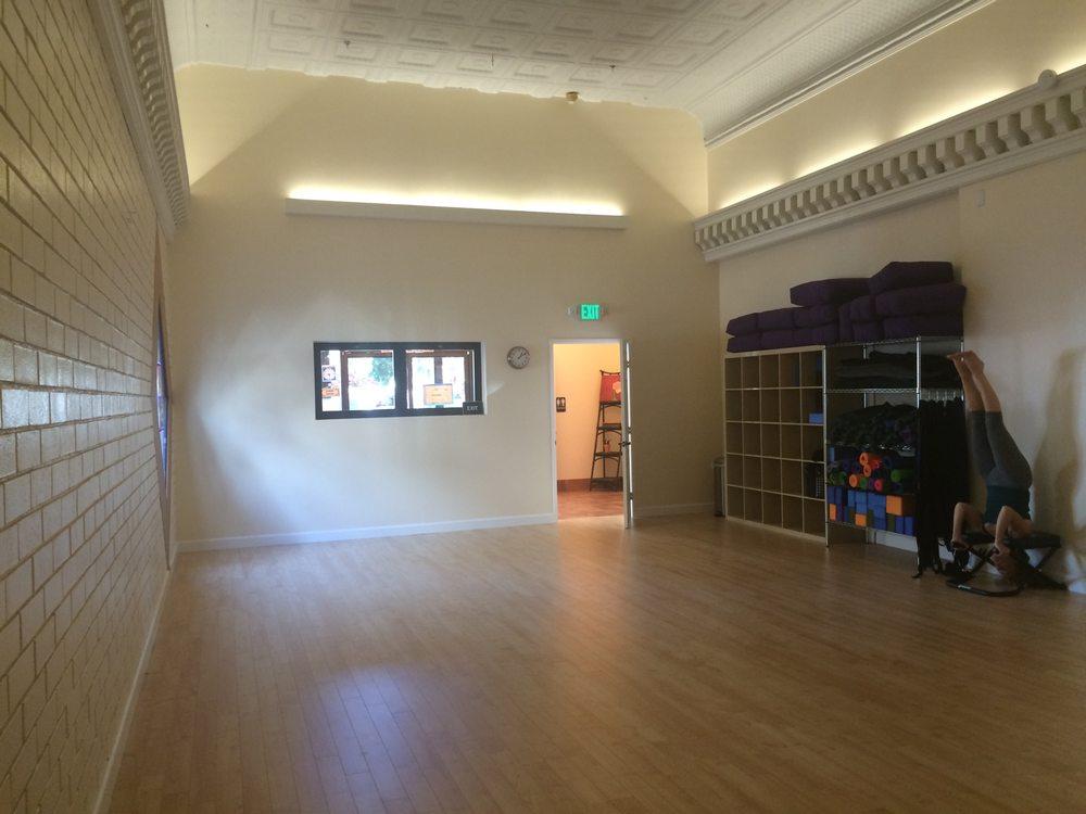 Luna Yoga room, a serene sanctuary