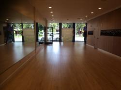 Sol Yoga and Dance studio room