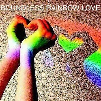 Boundless Rainbow Love