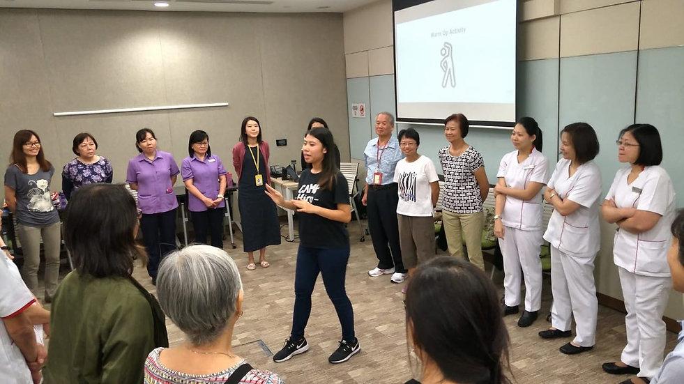 Programme at Ng Teng Fong Hospital