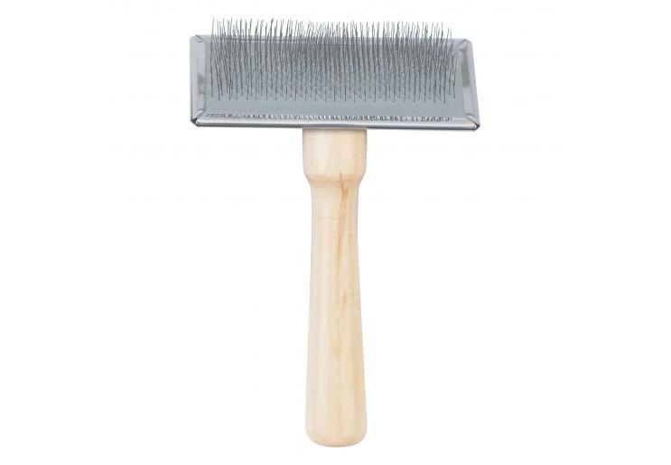 Ancol Medium Wooden Slicker Brush
