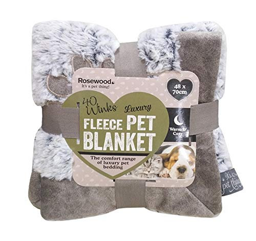 Super Soft Grey Fleece Blanket