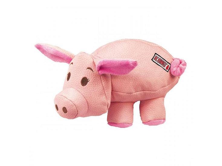 Small Kong Tough Pig Toy
