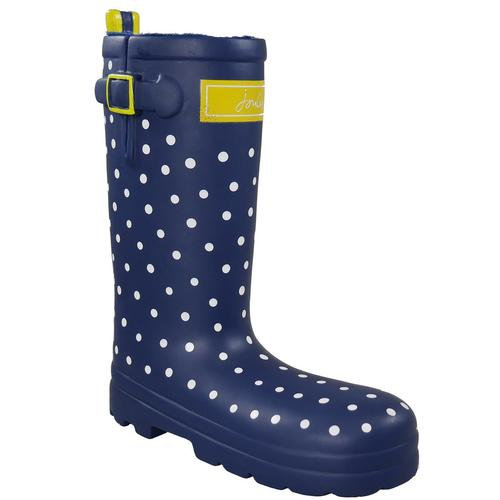 Joules Rubber Polka Dot Welly Toy