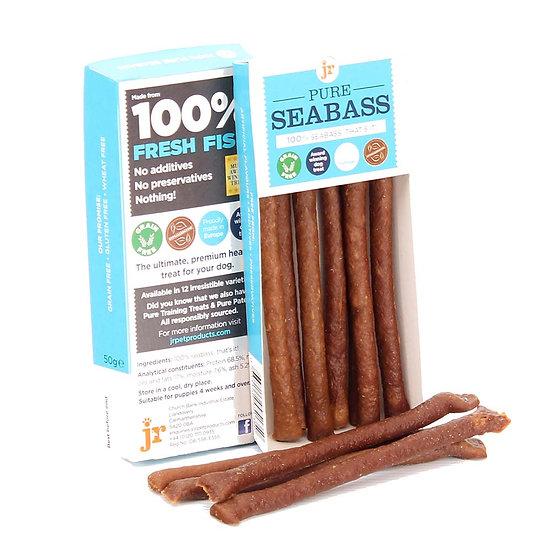 Pure Sea Bass Sticks 50g
