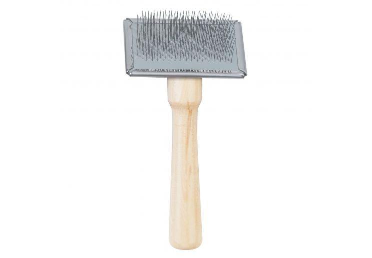 Ancol Small Wooden Slicker Brush