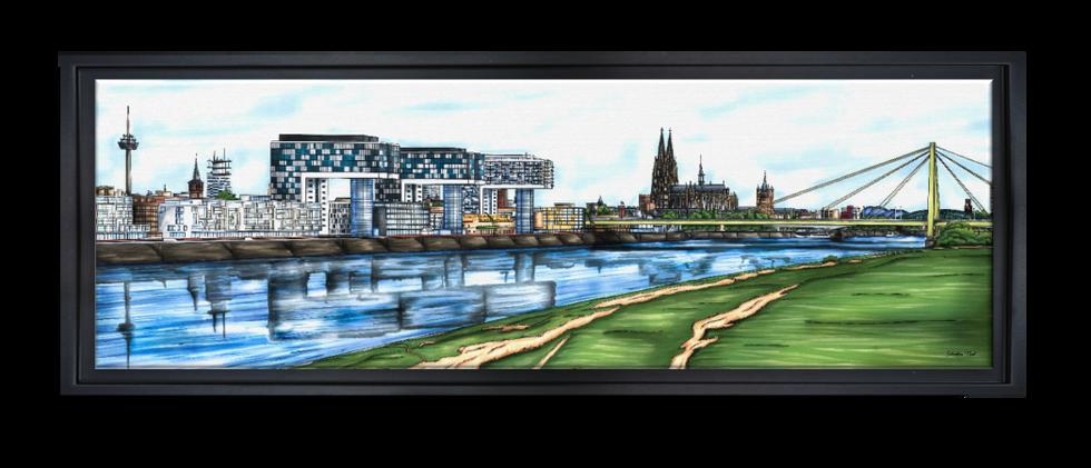 Köln Skyline, Kölner Dom, Dom, Köln, Kunst und Karneval, Domspitzen