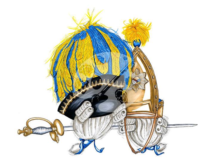 "Fastelovendshüte ""Bürgergarde"""