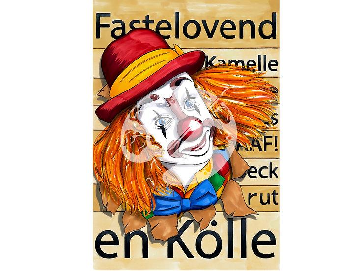 """Fastelovend en Kölle """"Ne jecke Lappenclown"""""""