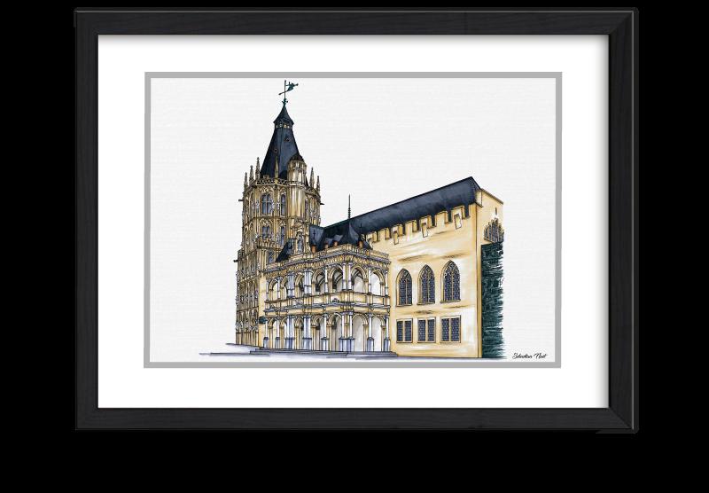 Rathaus Köln, Historisches Rathaus, Köln, Kunst und Karneval, Köln Kunst