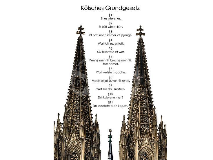 """Uns Kölle am Rhing """"Das Kölner Grundgesetz"""""""