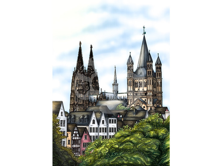 """Uns Kölle am Rhing """"Die Altstadt"""""""