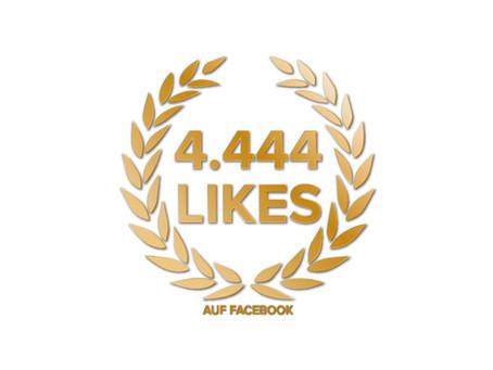 Gutschein für 4.444 Likes!