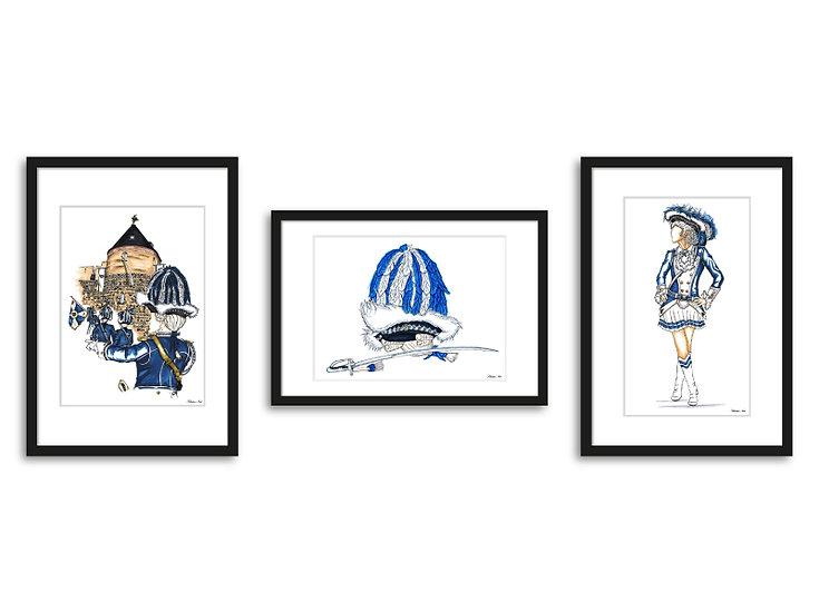 """Collection """"Preußisch Blau"""""""