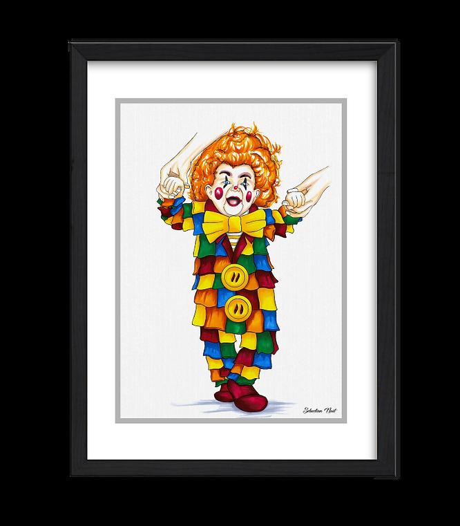 Lappenclown, Clowns, Kölner Karneval, Kunst Karneval