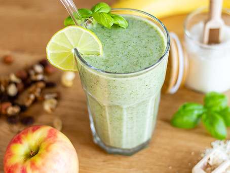 Green Oat Smoothie