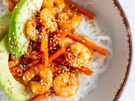 Asia Shrimp Bowl