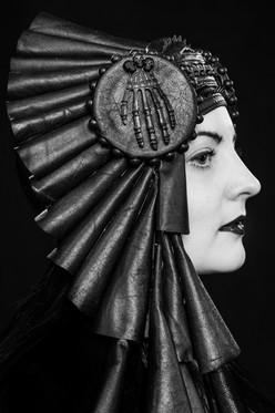 Model & hatter Meeri Helin