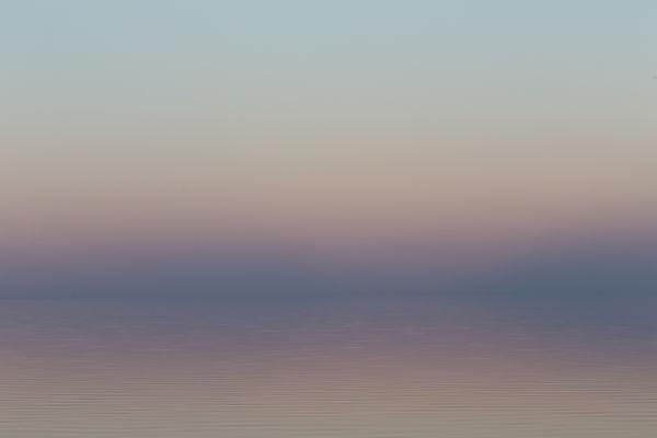 Salton Sea at dusk, 2016